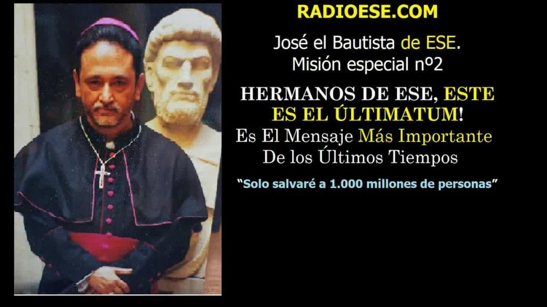 José el Bautista en misión especial nº 2
