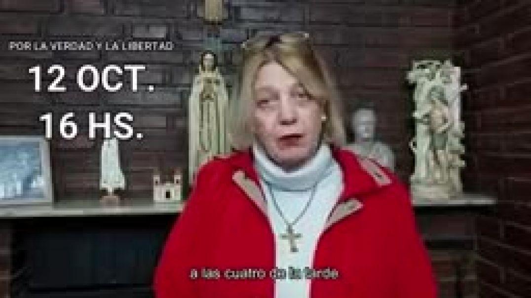 Llamamiento Argentina todo el 12 de Octubre a salir y gritar por tu derecho