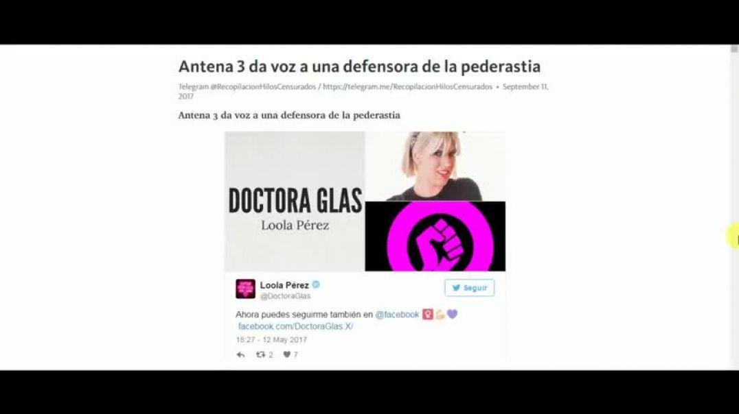 Antena 3 da voz a un defensor de la pedofilia.