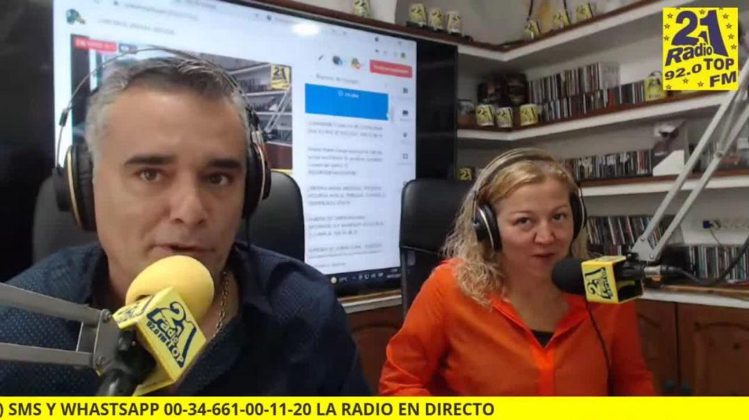 Entrevista a Cristina Armas sobre las ilegales leyes Plandémicas.
