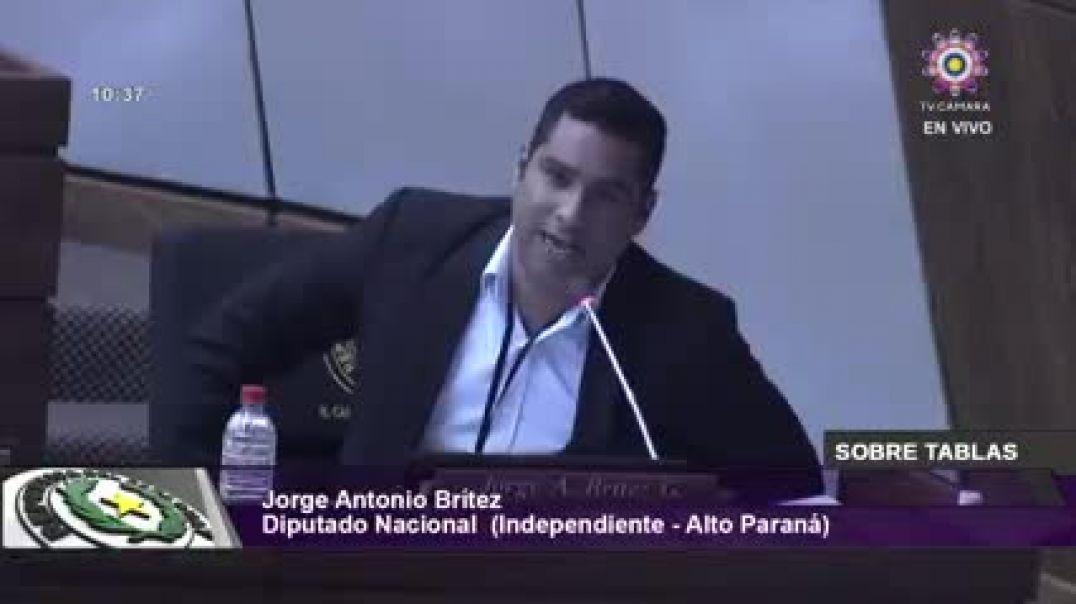Jorge Antonio Britez. Diputado de Paraguay