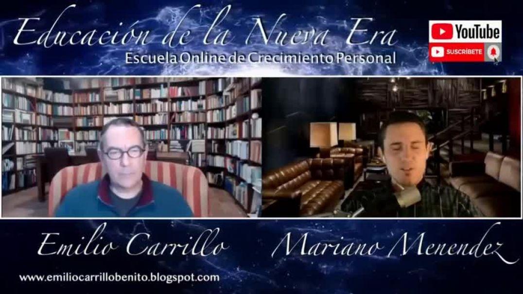 Educacion de la nueva era entrevista a Emilio Carrillo - LIBRO CONSCIENCIA Y SOCIEDAD DISTÓPICA