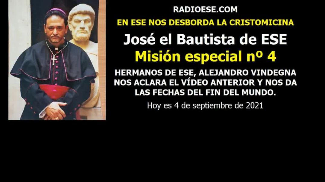 José el Bautista en misión especial nº 4