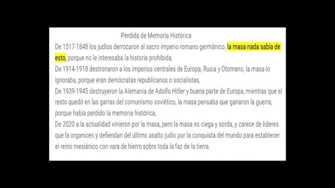Pérdida de Memoria Histórica - Anónimo