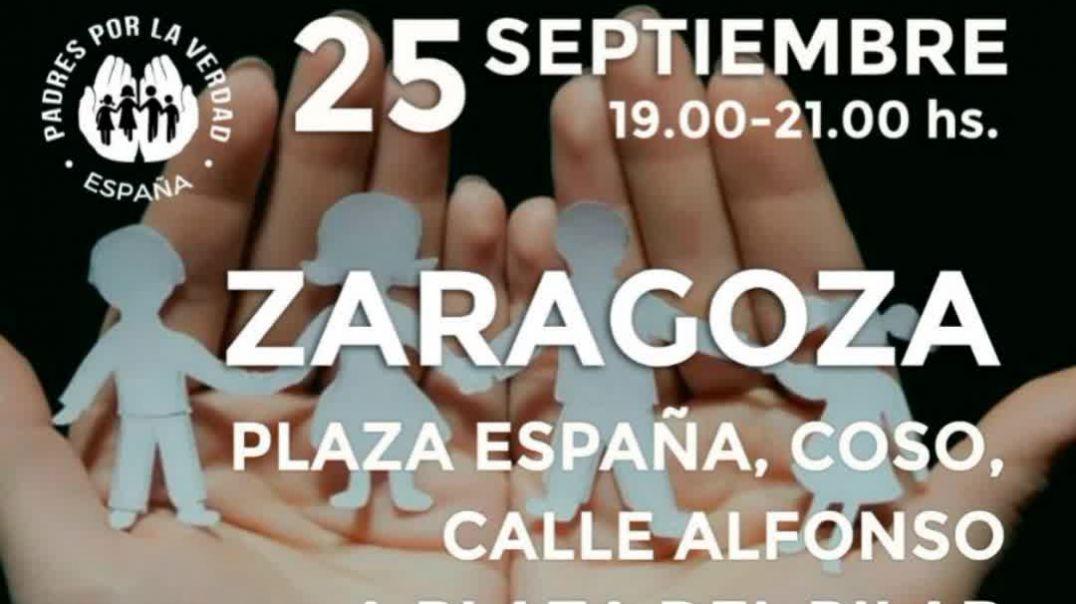 Zaragoza vuelve a las calles hoy 25 de septiembre 2021.
