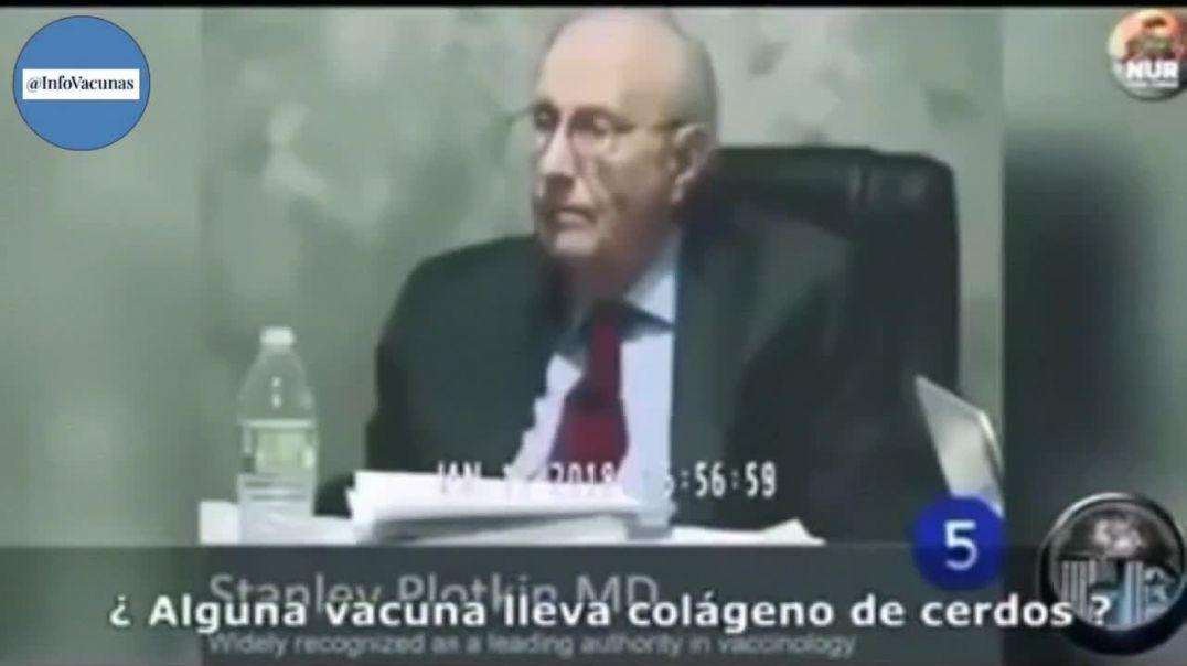 El líder ampliamente reconocido Stanley Plotkin como autoridad sobre vacunas declara ante el juez