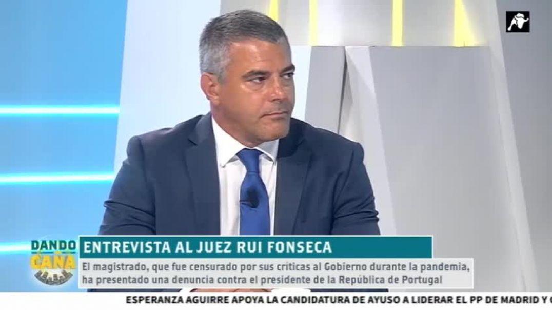 Juez Rui Fonseca presenta demanda por Crímenes de Lesa Humanidad.