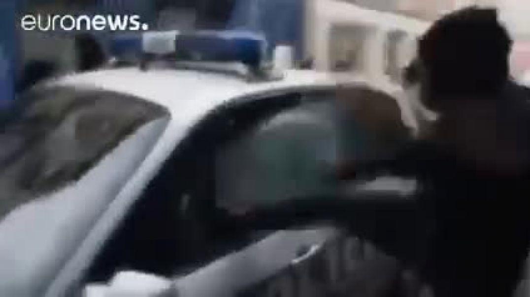 En Francia la gente se está hartando de la dictadura Político Policial Sanitaria.