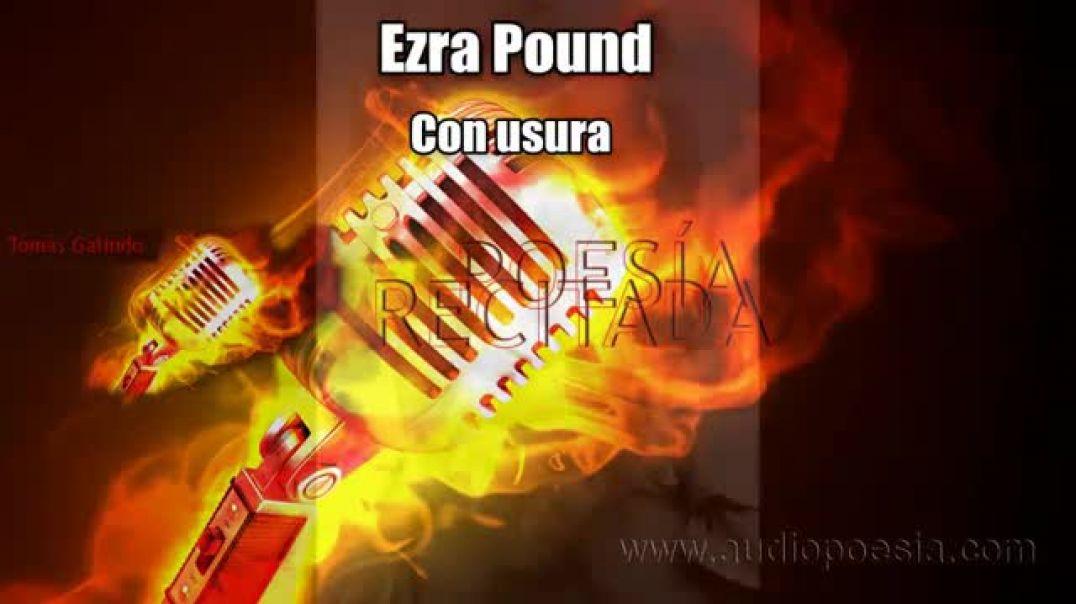 Con Usura - Ezra Pound