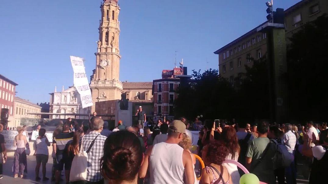 ¡Los Niños No Se Tocan! - Josep Pàmies - Plaza del Pilar.