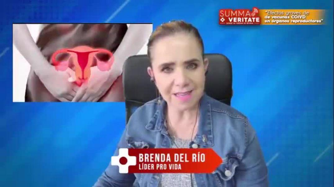 Dra. Roxana Bruno - Efectos graves de la Kakunas Covid-19 en los órganos reproductores.