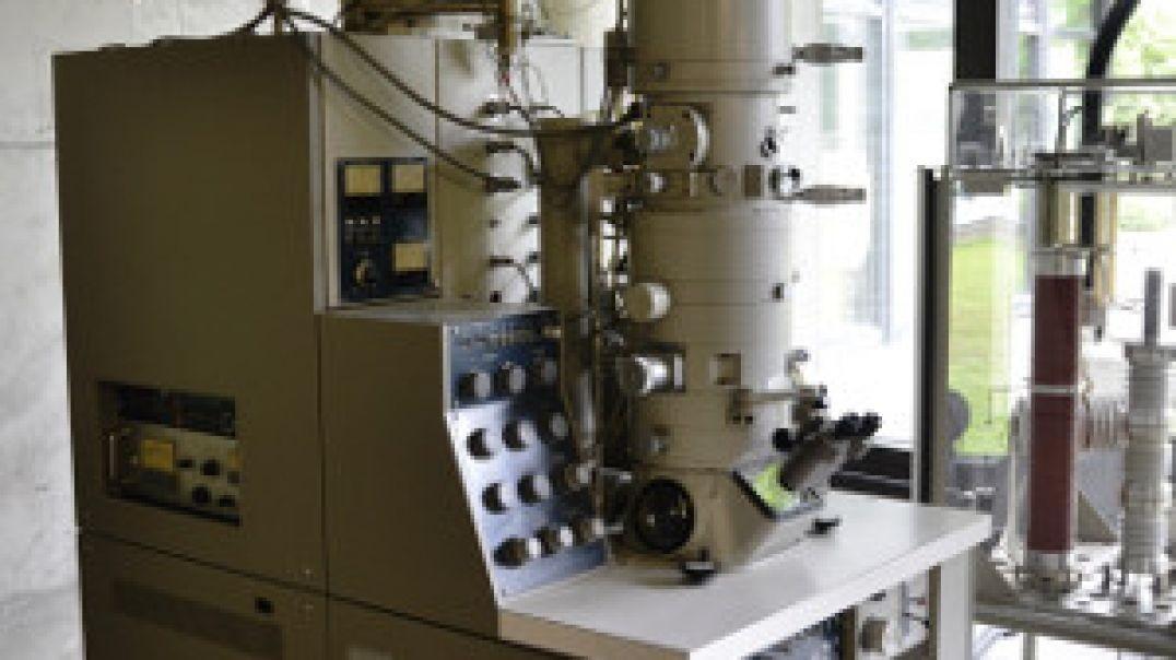 El tamaño de los virus. Microscopio electrónico de transmisión.