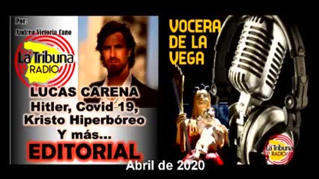 Lucas Carea en Tribuna Radio