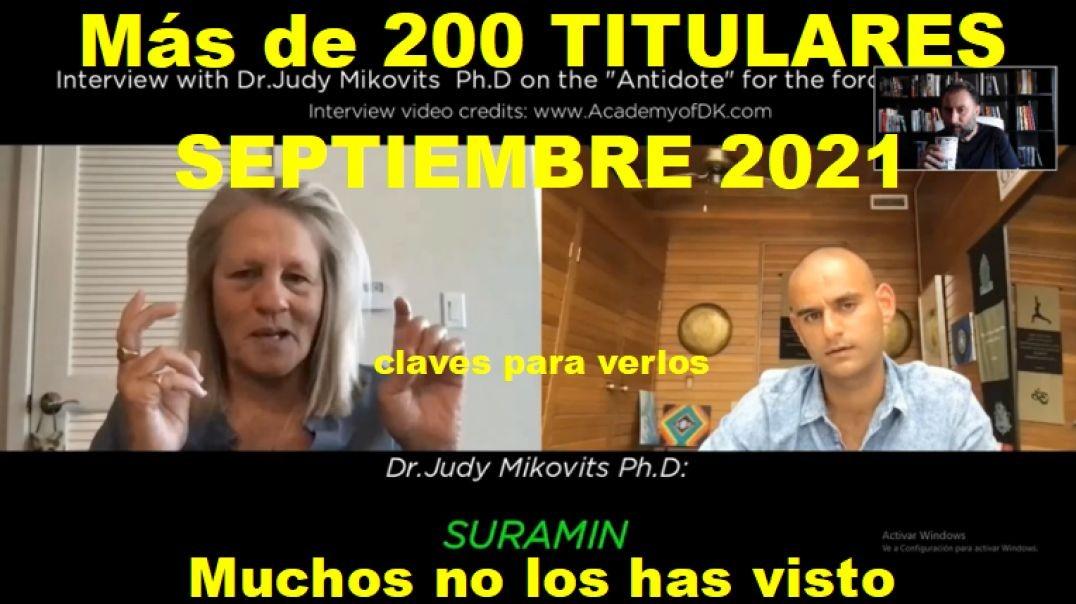 Más de 200 Titulares Septiembre 2021
