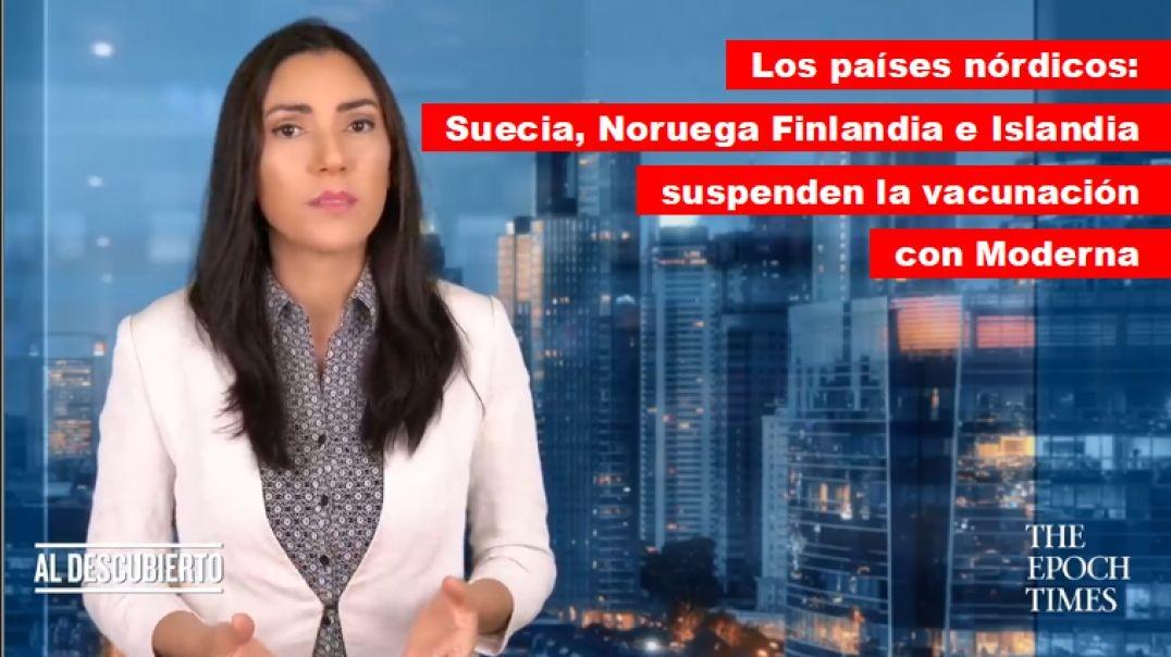 Suecia, Noruega, Finlandia e Islandia suspenden la vacuna moderna por efectos adversos.